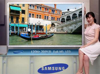 Samsung là nhãn hiệu TV đứng đầu thế giới trong quý I. Ảnh: Reghardware.