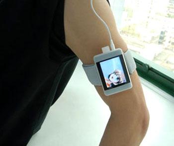 Mua máy có armband để tiện cho việc chơi thể thao. Ảnh: Themp3players.