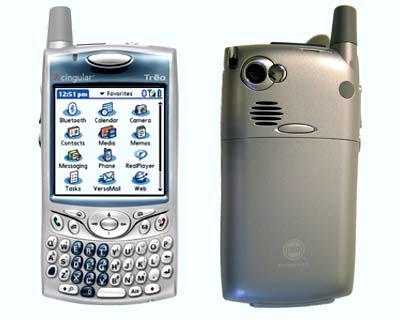 Palm Treo 650 sử dụng phiên bản Palm OS 5.4. Ảnh: Jwire.