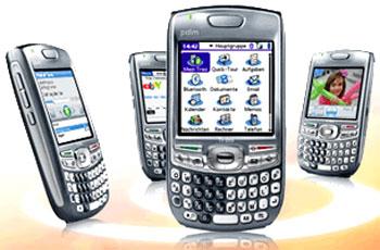 Hệ điều hành Palm khá mở cho các ứng dụng khác. Ảnh: Crunchgear.