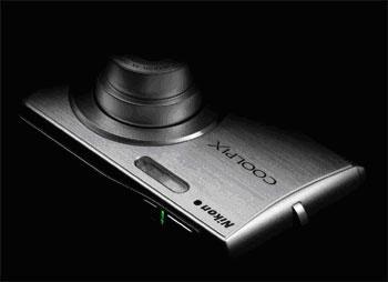 Nikon S200 có ngoại hình sang trọng và sành điệu. Ảnh: Dpreview.
