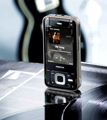 Nokia N81 sẽ có hai phiên bản - thường và 8 GB. Ảnh: Mobilewhack.