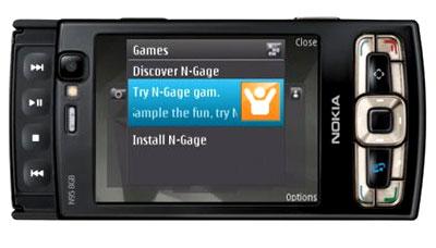 Nokia N95 bộ nhớ trong 8 GB và màn hình đẹp hơn. Ảnh: Mobilewhack.