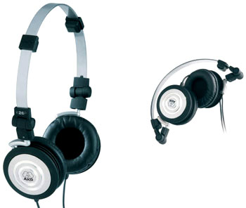 Tai nghe của AKG K26 P tầm 50 USD. Ảnh: Musikland.