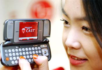 Bàn phím Qwerty dạng giống máy tính đã được trang bị trên nhiều mẫu điện thoại. Ảnh: Digibuzz.