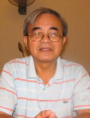GS Phan Đình Diệu, người đầu tiên cảnh báo về những bất cập của Đề án 112. Ảnh: N.H.