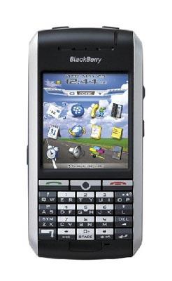 BlackBerry 7130g với thiết kế gọn. Ảnh: Broadbandindia.