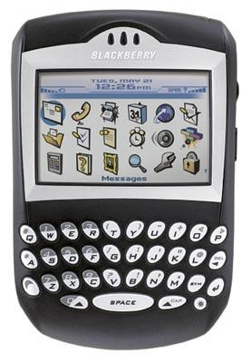 BlackBerry 7290 nâng cấp có thêm màn hình màu. Ảnh: Wordpress.