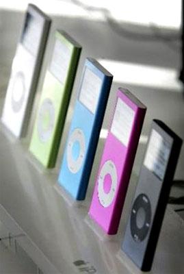 Doanh số bán iPod tăng 17%. Ảnh: Sfgate.