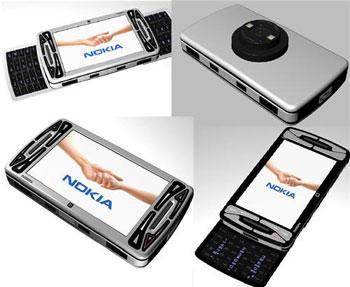Mô hình Nokia N96 N-Gage. Ảnh: Mobilemag.