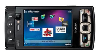 Nokia N95 phiên bản 8 GB. Ảnh: Pma-show.