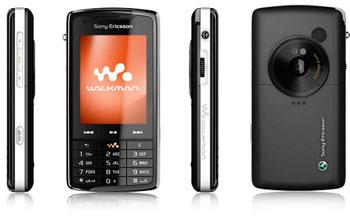 Sony Ericsson W960i có màn hình cảm ứng. Ảnh: Portaldasnoticias.