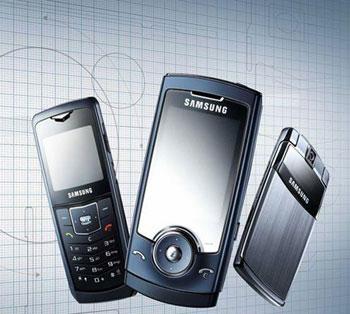 Điện thoại Samsung sẽ có màn hình OLED. Ảnh: Businessweek.