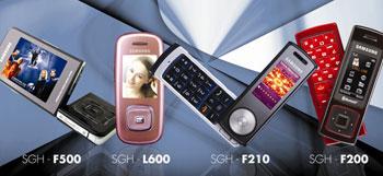 Bộ tứ điện thoại mới nhất của Samsung tại Việt Nam. Ảnh: Samsung Vina.