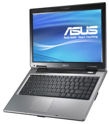 Màn hình của Asus A8J có khả năng hiển thị rất tốt, nhờ card đồ họa Nvidia đời cao. Ảnh: Surcouf.