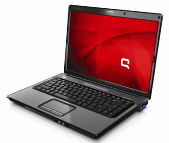 HP Compaq Presario V3000 series cho phép người dùng lựa chịn vi xử lý của Intel hoặc AMD. Ảnh: Cnet.