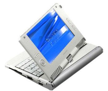 Kohjinsha SA1 là 1 trong những chiếc UMPC rẻ nhất được bán ở bên ngoài thị trường Nhật Bản. Ảnh: Cnet.