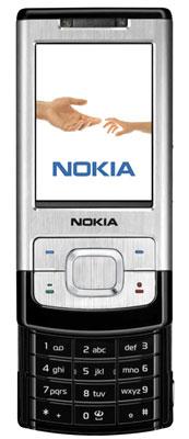 Điện thoại mới Nokia 6500 Slide. Ảnh: Ecoustics.