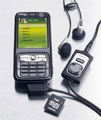 Phiên bản nghe nhạc Nokia N73. Ảnh: Tech2.