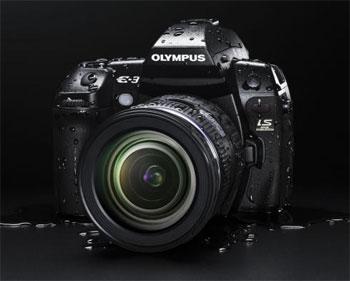 Olympus E-3 được trang bị những tính năng cao cấp nhất của những dòng D-SLR cao cấp nhất của Olympus. Ảnh: News.