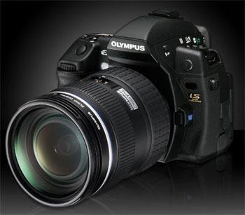 E-3 là mẫu máy ảnh nặng nhất của Olympus. Ảnh: Macnn.