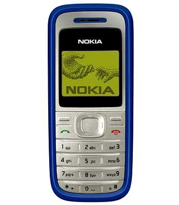 Nokia 1200 trở về với những gì cơ bản nhất.