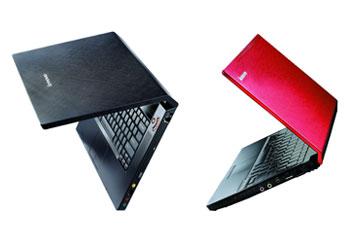 IdeaPad Y510 (trái) và U110 (phải) chuẩn bị được Lenovo mang đến Việt Nam. Ảnh: Lenovo.