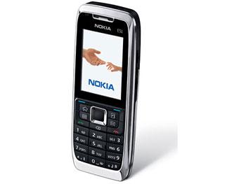 E51 mỏng nhẹ và thanh thoát. Ảnh: Nokia.
