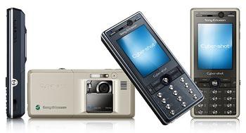 K810i là điện thoại chụp hình. Ảnh: 3g.