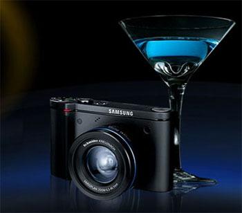Samsung NV7 OPS có ngoại hình vừa gợi cảm, vừa mạnh mẽ. Ảnh: Popgadget.