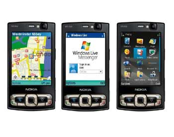 N95 8 GB dễ dàng chia sẻ với các thiết bị số trong nhà. Ảnh: Nokia.