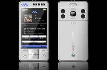 W520i với giao diện nghe nhạc Walkman 3.0. Ảnh: Esato.