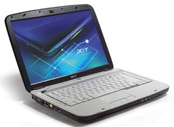 Acer Aspire 4520 sử dụng chip AMD và card đồ họa Nvidia. Ảnh: Cnet.