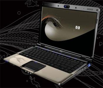 HP Pavilion dv2600 được thiết kế theo một phong cách hoàn toàn mới. Ảnh: Gadget9.