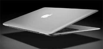 MacBook Air là laptop siêu mỏng mới ra mắt của Apple. Ảnh: Apple.