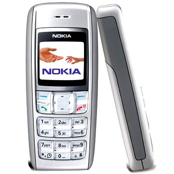 Nokia 1600 có bàn phím lớn. Ảnh: Mobiledia.