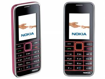 Nokia 3500 duyên dáng với thiết kế mỏng. Ảnh: Cnet.
