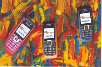 Nokia 2626 có nhiều màu sắc để lựa chọn. Ảnh: Techshout.