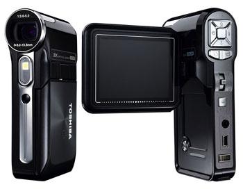 Toshiba Camileo Pro được trang bị cảm biến 5 Megapixel, ống kính zoom quang 3x và màn hình LCD 2,5 inch. Ảnh: Reghardware.