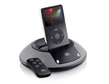 Loa cho iPod JBL OnStage II. Ảnh: Techland.