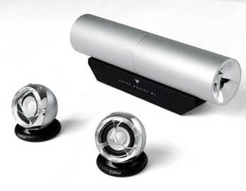 MP300 - mẫu loa vừa dùng để trang trí của Edifier. Ảnh: Svhouse.