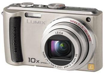 Panasonic Lumix DMC-TZ50 là một trong không nhiều mẫu máy ảnh có khả năng kết nối Wi-Fi hiện nay. Ảnh: Reghardware.