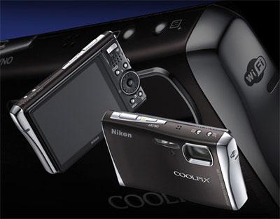 Nikon Coolpix S52c hỗ trợ kết nối Wi-Fi. Ảnh: letsodigital.