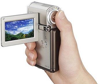 Sony HDR-TG1/TG3E. Ảnh: Sony.