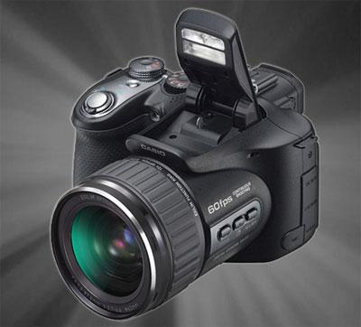 Casio Exilim Pro EX-F1 là máy ảnh có tốc độ chụp và quay video nhanh nhất hiện nay. Ảnh: Ces-show.
