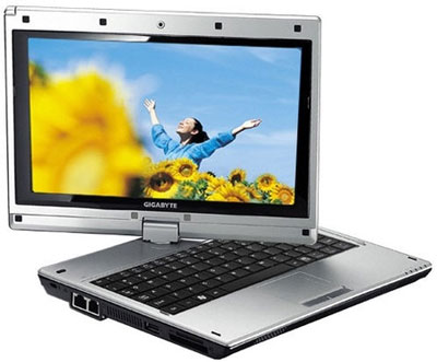 Gigabyte M912 - máy tính bảng có màn hình 8,9 inch. Ảnh: Reghardware.