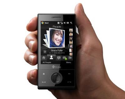 HTC Touch Diamond có giao diện cảm ứng 3D. Ảnh: Engadget.