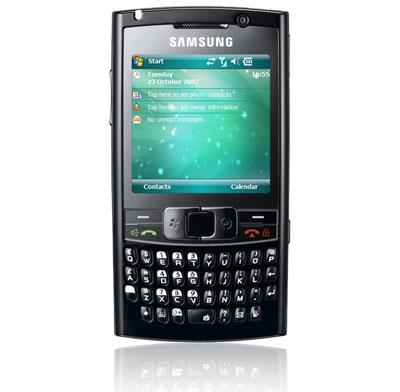 Samsung i780 có chuột quang cảm ứng. Ảnh: Cnet.