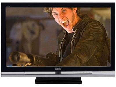 Chiếc TV 46 inch dòng Bravia W. Ảnh: Cnet.