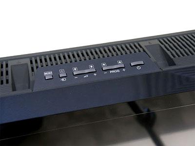 Các phím điều chỉnh lại đặt ở gờ trên. Ảnh: Cnet.